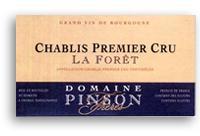 2010 Domaine Pinson Freres Chablis La Foret