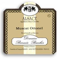 2011 Domaine Barmes-Buecher Muscat Ottonel