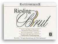 2004 Ratzenberger Bacharacher Kloster Furstental Riesling Brut Sekt