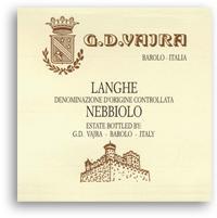2011 G.D. Vajra Langhe Nebbiolo