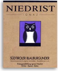 2010 Ignaz Niedrist Blauburgunder