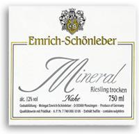 2012 Emrich Schonleber Mineral Riesling Trocken