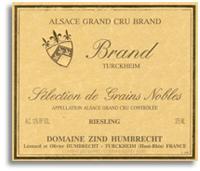 2008 Zind Humbrecht Riesling Brand Selection De Grains Nobles