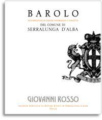 2007 Giovanni Rosso Barolo Serralunga Dalba
