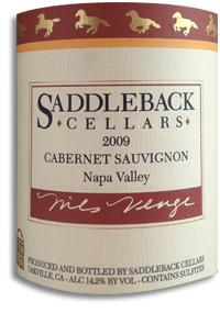 2008 Saddleback Cellars Cabernet Sauvignon Oakville Napa Valley