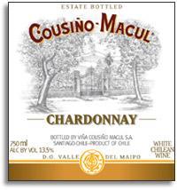 2010 Vina Cousino Macul Chardonnay Estate Bottled Maipo Valley