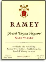 2001 Ramey Wine Cellars Red Wine Jericho Canyon Vineyard Napa Valley