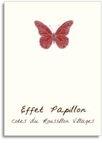 2011 Les Vignes de l'Aire Effet Papillon Cotes du Roussillon Rouge