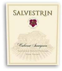 2002 Salvestrin Cabernet Sauvignon Estate Vineyard Napa Valley