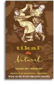 2012 Tikal Natural Red Wine Mendoza