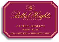 2010 Bethel Heights Vineyard Pinot Noir Casteel Reserve Eola Amity Hills