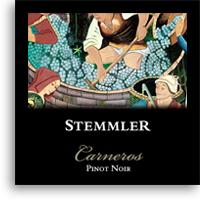 2010 Robert Stemmler Winery Pinot Noir Carneros