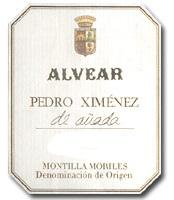 2008 Alvear Pedro Ximenez De Anada Montilla Moriles