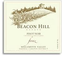 2008 Beacon Hill Estate Pinot Noir Feraz Willamette Valley Yamhill Carlton District