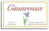 2011 Cimarossa Vineyards Cabernet Sauvignon Rive Di Cimarossa Howell Mountain