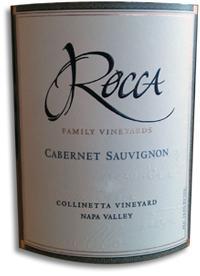 2010 Rocca Family Vineyards Cabernet Sauvignon Collinetta Vineyard Napa