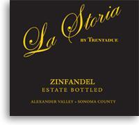 2011 La Storia Zinfandel Alexander Valley