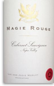 2009 Morlet Family Vineyards Cabernet Sauvignon Magie Rouge Napa Valley
