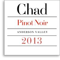 2011 Chad Pinot Noir Anderson Valley