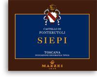 2006 Castello Di Fonterutoli Siepi Toscana Rosso