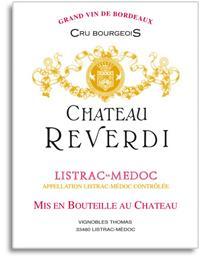 2010 Chateau Reverdi Listrac Medoc