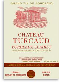 2011 Chateau Turcaud Bordeaux Clairet