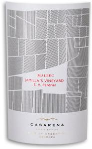 2011 Casarena Malbec Jamillas Single Vineyard Perdriel Mendoza