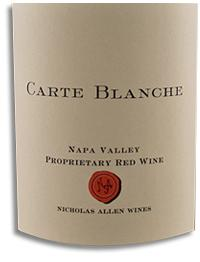 2010 Carte Blanche Proprietary Red Napa Valley