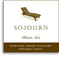 2011 Sojourn Cellars Pinot Noir Rodgers Creek Vineyard Sonoma Coast