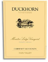 2007 Duckhorn Vineyards Cabernet Sauvignon Monitor Ledge Vineyard Napa Valley