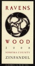 2007 Ravenswood Winery Zinfandel Old Vines Sonoma County