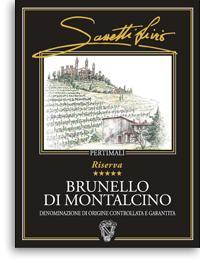 2001 Pertimali (Livio Sassetti) Brunello di Montalcino Riserva