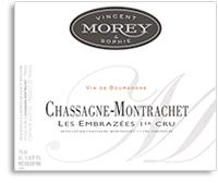 2011 Domaine Vincent & Sophie Morey Chassagne-Montrachet Les Embrazees 1er Cru