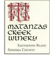 2012 Matanzas Creek Winery Sauvignon Blanc Sonoma County