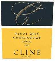 2010 Cline Cellars Pinot Gris Chardonnay