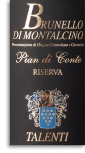 2007 Talenti Brunello Di Montalcino Pian Di Conte Riserva