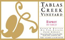 2013 Tablas Creek Vineyard Esprit de Tablas