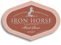 2008 Iron Horse Vineyards Brut Rose