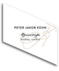 2010 Peter Jakob Kuhn Riesling Trocken Rheinschiefer
