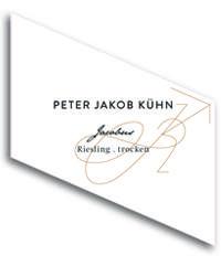 2010 Peter Jakob Kuhn Riesling Trocken Jacobus
