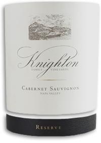 2008 Knighton Family Vineyards Cabernet Sauvignon Reserve Napa