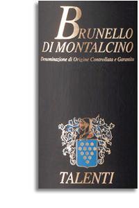 2004 Talenti Brunello Di Montalcino