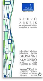 2008 Giovanni Almondo Arneis Roero