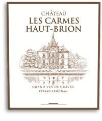 2015 Chateau Les Carmes Haut Brion Pessac-Leognan