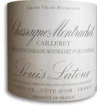 2010 Louis Latour Chassagne-Montrachet Cailleret Premier Cru