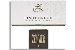 2010 Peter Zemmer Pinot Grigio