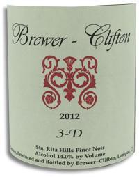 2010 Brewer-Clifton Pinot Noir 3-D Sta. Rita Hills
