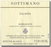 2009 Sottimano Barbaresco Fausoni