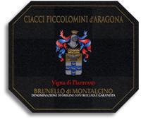 2008 Ciacci Piccolomini d'Aragona Brunello di Montalcino Vigna di Pianrosso