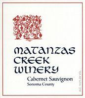2011 Matanzas Creek Winery Cabernet Sauvignon Sonoma County